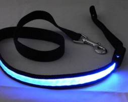 LED Hondenriem Blauw